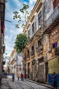 Habana house with tree