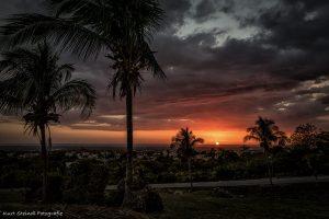 Trinidad Caribean sunset