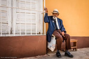 Trinidad Man with big cigar