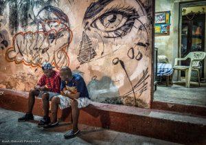 Habana Eyes on the wall
